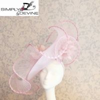 Blossom Baby Pink WOW Ascot Hatinator PB66